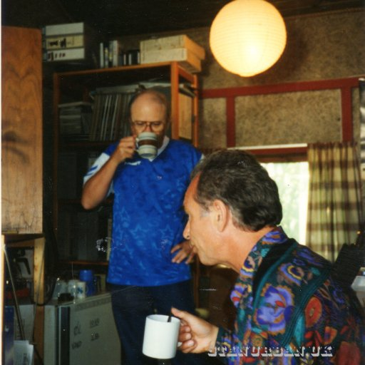 with charlie mcCoy in the studio