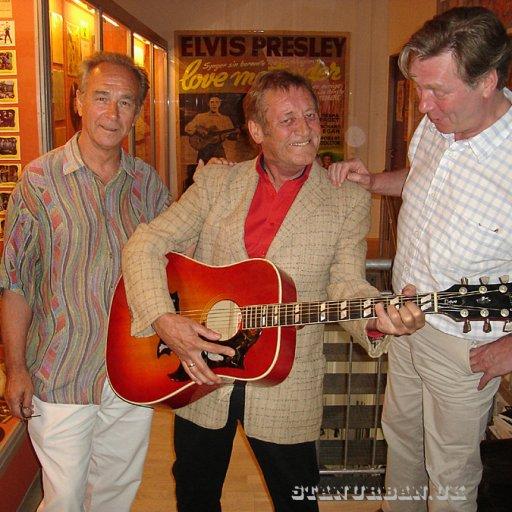 At the old Elvis museum Randers, DK