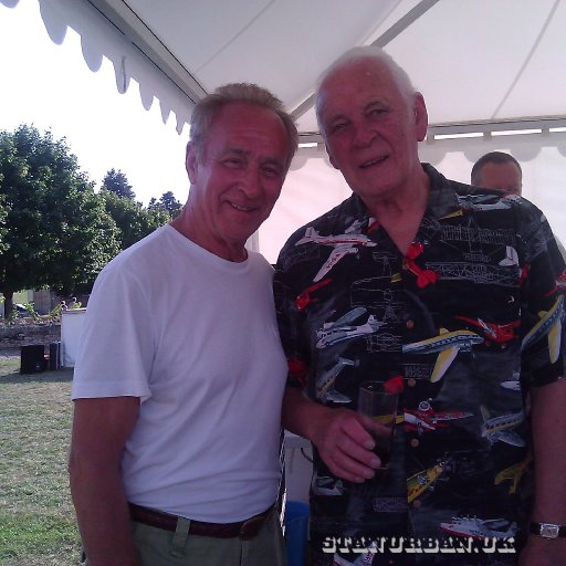 With Gary Brooker.