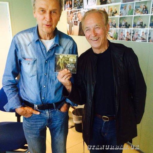 With Jorn De Mylius.