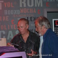 With Alan Hayman