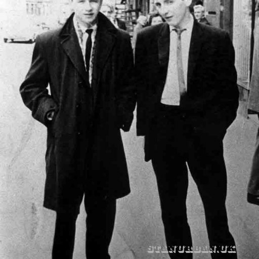 With Jim Sanderson.