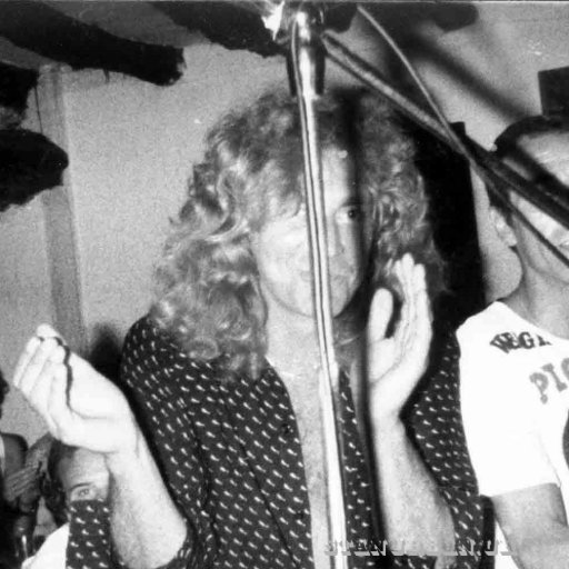 At the piano with Robert Plant ,La Reja club,San Antonio,1978.