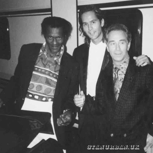 with chuck berry